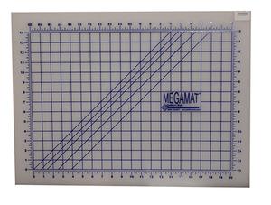 "SewFit SFT18X24"" Translucent Rotary Cutter Cutting Mega Mat Pinnable Grid LDPE Self Healing"