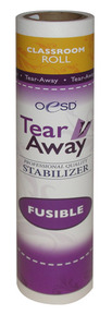 """OESD STAB-FTA Classroom Size Fusible Tear Away 1.5oz Embroidery Stabilizer, 10"""" x 5 yards"""