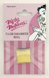 Nifty Notions 6997Y  NN Chalk Refill Yellow Chalkwriter NOTIONS