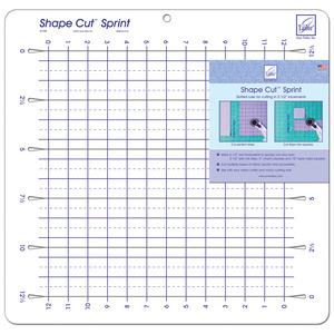 """June Tailor JT798A Shape Cut Sprint Ruler, Ideal 2-1/2"""" Slot Increments"""