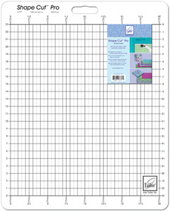"42056: June Tailor JT-777 Shape Cut Pro Rotary Cutting Ruler Large 20x23"" Grid"