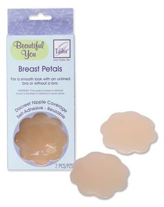 June Tailor JT387 Beautiful You Breast Petals For a smooth look without a bra! Discreet coverage, self adhesive & re-useable. Also great for,runners.