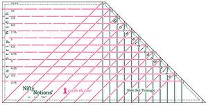 94962: Good Measure GMSST Side Set Triangle Ruler by Amanda Murphy