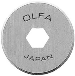 Olfa RB18-2 2Pk 18mm Replacement Rotary Knife Blades RTY-4 CMP-3
