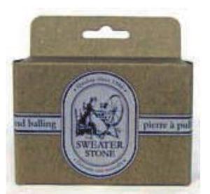 "Dritz SWST Sweater Pumice Stone 3.5x2.5"" Remove Pilling from Knits, Fabrics"