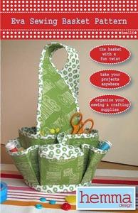 42132: Hemma Design HEM114 Eva Sewing Basket Sewing Pattern