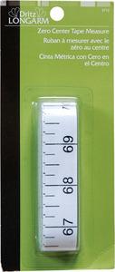 52388: Dritz Long Arm DL3712 Zero Center Tape Measure Single Pack