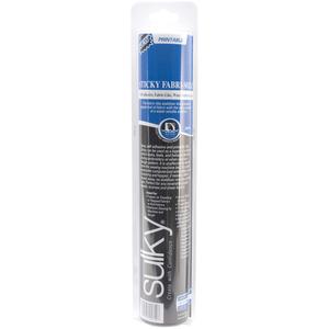 42178: Sulky Sticky Fabri Solvy 12in x 6yd Roll Adhesive Washaway Stabilzer