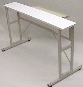 "42216: Artisan Universal Knitting Machine Tressel Leg Stand and Table Top 48x8x27""H"