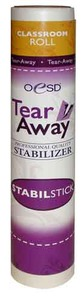 "OESD STAB-TSS Stabil Stick Adhesive TearAway Stabilizer 10""x2Yds Classrooms"