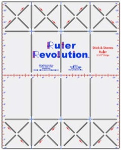 "Ruler Revolution MRRSS25 2.5"" Sticks and Stones"