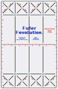 "Ruler Revolution MRRSS2 2"" Sticks and Stones"