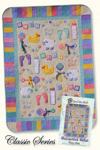 Lunch Box Quilts CQP-EB-1 Everything Baby Classic 7 Appliques Sewing Pattern