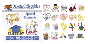 Dakota Collectibles 970467 Special Moments Multi-Formatted CD Embroidery Machine Designs
