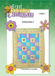 Great Notions 110811 Gingham All Designs Multi-Formatted CD