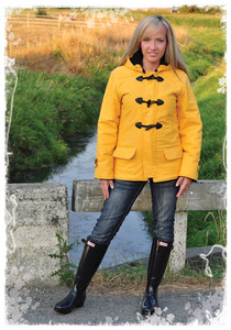 Favorite Things V042 The Duffle Coat Pattern Sizes 4-22