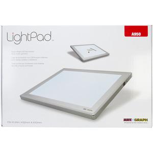 42539: Artograph A950 LightPad LED Light Box 17 X 24 inch, Adapter, Storage Sleeve