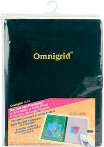 "Omnigrid OG2105 8-3/4""X11-3/4"" Tote Size Medium Fold Away Portable Cutting and Ironing Pressing Station"