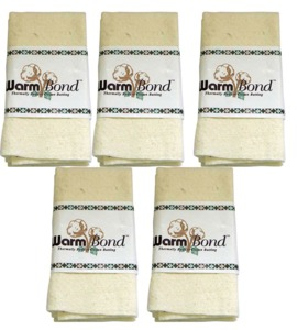 "The Warm Company 1032 80/20 Warm Bond 90""X108"" Queen Size Case of 5"