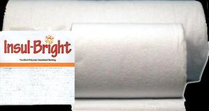 Warm Company 1661 Insul-Bright Poly Quilt Batting, Heat Resistant 22 Inch x 20 Yard Bolt