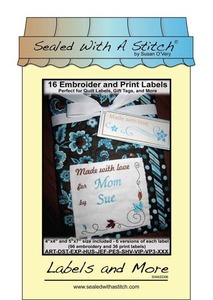 Sue O'Very Designs Labels and More Designs