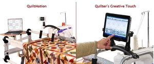 Juki Demo Quilt Motion QCT Quilting Creative Touch Design Software+Robot Hardware for TL2200QVP  *Tablet not included