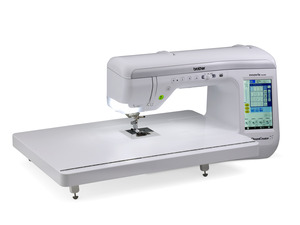 Brother VQ2400 DreamCreator Innov-is Sewing Quilting Machine, 561 Stitch, 14 Buttonholes, 5 Fonts, Sew Straight Laser, Pen Pal, Extension Table, 3Bags