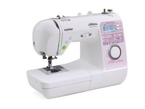 62081: Brother NS40E Demo Project Runway 50 Stitch Computer Sewing Machine