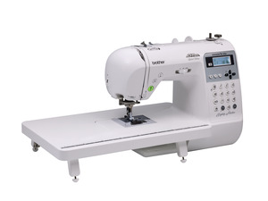 Brother Innov-is 85e (NS80+) Project Runway Computer Sewing Machine, 80Stitch, 10BH, 55 Alpha Numeric, Threader, Trimmer, . Hard Cover, USB*