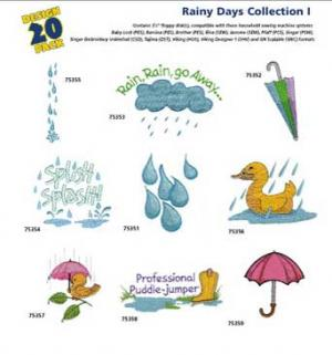 Amazing Designs / Great Notions 1250 Rainy Days I Multi-Formatted CD