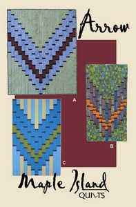 Maple Island Quilts MIQ456 Arrow Quilting Pattern