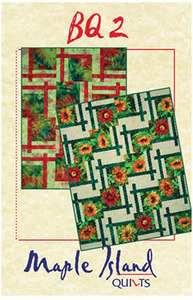 Maple Island Quilts BQ2 Quilting Pattern