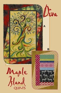 Maple Island Quilts Diva Quilting Pattern