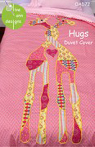 Olive Ann Designs Hugs Duvet Cover Sewing Pattern