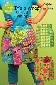 Olive Ann Designs It's A Wrap - Skirt & Leggings Sewing Pattern