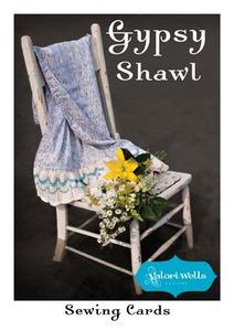 Valori Wells Designs Gypsy Shawl Sewing Pattern