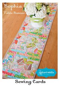 Valori Wells VWD88 Designs Sophia Table Runner Sewing Pattern
