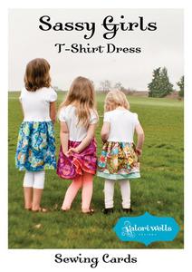 Valori Wells Designs Sassy Girls T-Shirt Dress Sewing Pattern