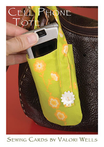 Valori Wells Designs 93-3023 Cell Phone Tote Sewing Pattern