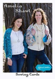 Valori Wells Designs Amelia Shawl Sewing Pattern