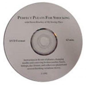 Perfect Pleats for Smocking, Instructional DVD video on use of Smocking Pleater Machines, Read and Amanda Jane, Needles, Prewash Batiste & Broadcloth