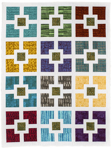 Quilt in a Day by Eleanor Burns Hole in the Wall Sewing Pattern