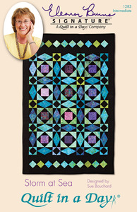 Quilt in a Day by Eleanor Burns Storm at Sea Sewing Pattern