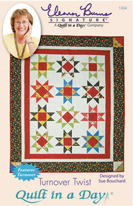 Quilt in a Day by Eleanor Burns Turnover Twist Sewing Pattern