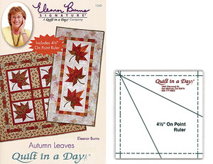 Quilt in a Day by Eleanor Burns Autumn Leaves Sewing Pattern