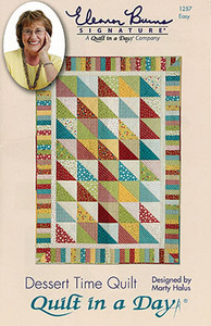 Quilt in a Day by Eleanor Burns Dessert Time Quilt Sewing Pattern