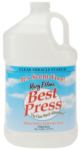 43272: Mary Ellen 600G-41 Best Press Spray Starch Gallon Refill 1 of 9 Scents, or Scent Free