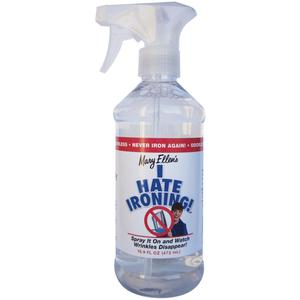 43273: Mary Ellen 60098 I Hate Ironing! 17oz Spray Bottle of Wrinkle Remover