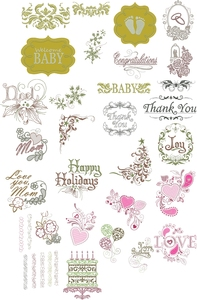 OESD 12362H Gift Bags for Special Occasions Designs Multiformat Embroidery Design CD