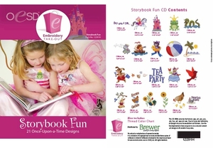 OESD 12291H Storybook Fun Multiformat Embroidery Design CD